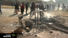 Protesters at Eersterust