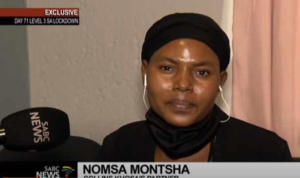 SABC News Nomsa Montsha - Collins Khosa family calls on South Africans to unite, demand justice for his death