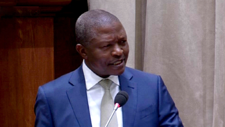 mabuza 1 - Mabuza to answer questions in the NCOP