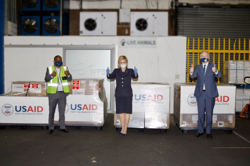 ventilators 866x577 - Mkhize welcomes ventilator donation from the US
