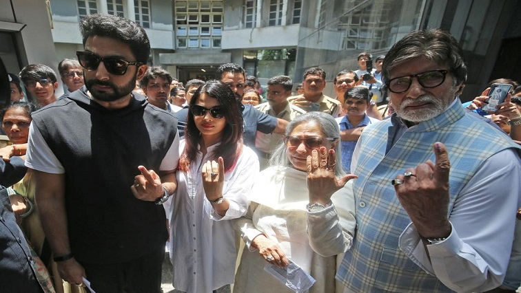 SABC News Bachchan family Reuters - Three generations of Bollywood's Bachchan family hit by COVID-19
