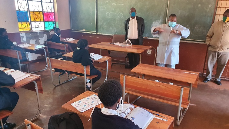 SABC News MEC Boshielo @edu limp 1 - Thirty COVID-19 cases reported in Limpopo Schools