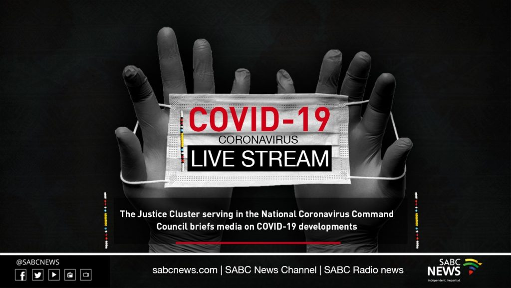 jcps live 15 1024x577 - LIVE | Justice cluster ministers brief media on COVID-19 measures