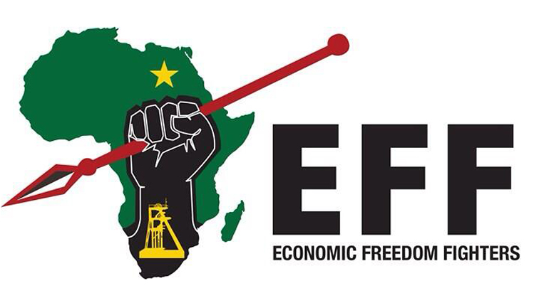EFF logo - There is no heritage to celebrate as long as black people remain landless: EFF