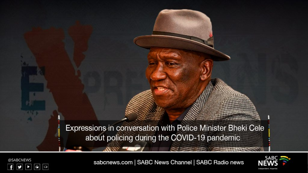 Expressions Live  1024x577 - LIVE: In conversation with Minister Bheki Cele