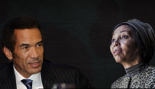 Khama Motsepe briefing 1 - Forensic report clears Ian Khama and Bridgette Motsepe of money laundering