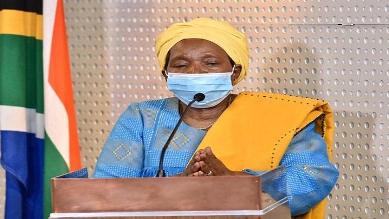 Nkosazana Dlamini Zuma Twitter @NationalCoGTA - DA lambastes decision to extend National State of Disaster
