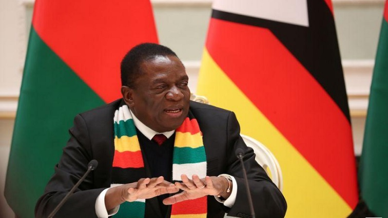 SABC NEWS Emmerson Mnangagwa R - US imposes sanctions on Zimbabwe businessman, company