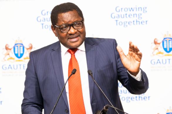 SABC News David Makhura @GautengGov 1 - DENOSA Gauteng wants Makhura to temporarily step down