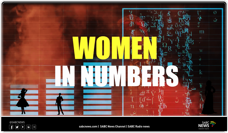 SABC News In Numbers Womens Month - VIDEO | Women Equality in Numbers