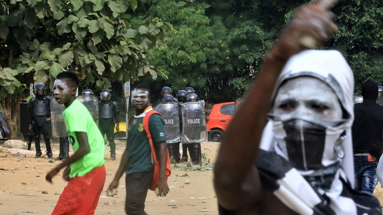 Ivory Coast police disperse protests against president's third ...