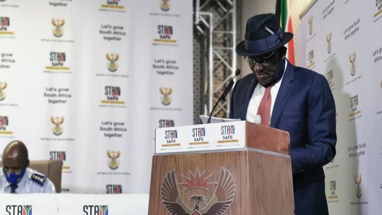 SABC News Min Cele @SAPolice - LIVE: Release of crime statistics for 1st April to 30th June 2020