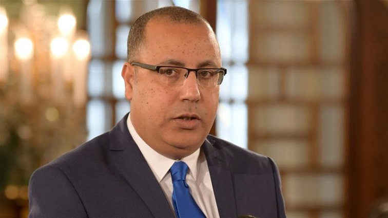 SABC News Minister Hichem Mechichi R - Tunisia's incoming PM plans restructuring of economic ministries