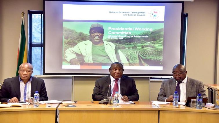 SABC News NEDLAC Twitter @PresidencyZA - Nedlac sets up team to finalise SA economy's recovery programme