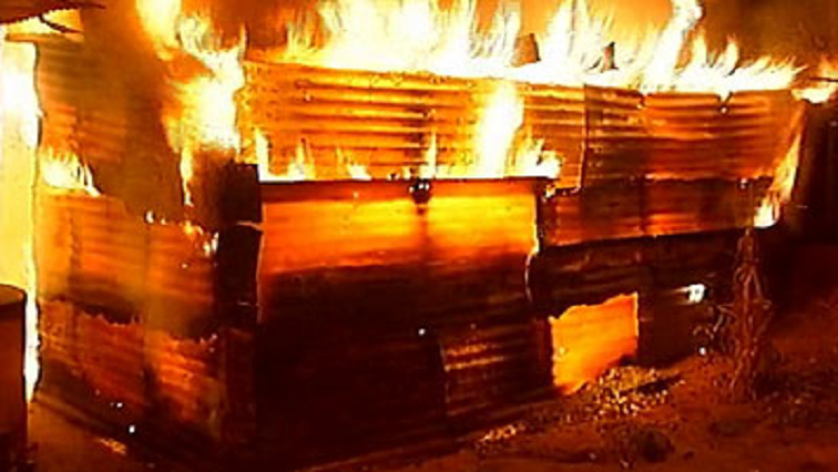 SABC News Shack Fire - Two children burn to death in shack fire, mother commits suicide