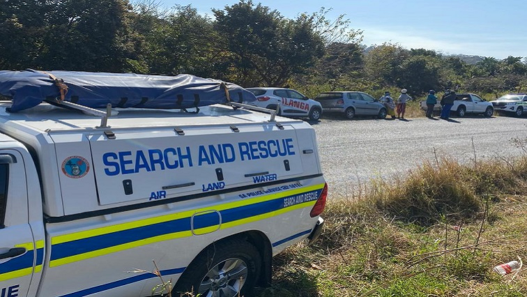 SABC News uMthwalume Twitter @SAPoliceService - WARNING: GRAPHIC CONTENT – Another body found in uMthwalume
