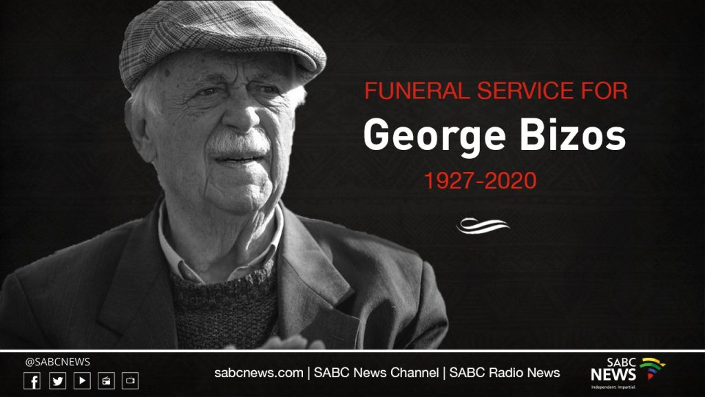 BIZOS LAID TO REST 1024x577 - Special Official Funeral Service for George Bizos