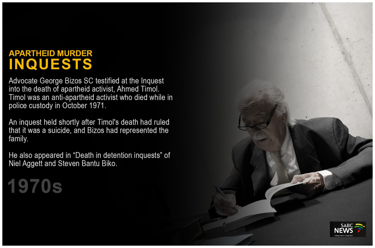 Bizos2 - George Bizos | Human Rights icon's most celebrated moments