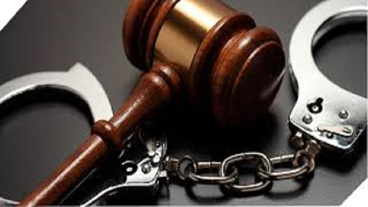 Court and cuffs Twitter @SAPoliceService - Man arrested for Charl Kinnear murder to appear in court