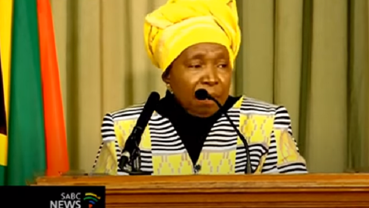 Dlamini zuma 2 - 'COVID-19 could be used to change local governance'