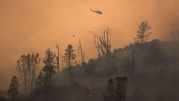 SABC NEWS CALI FIRE R - Wildfire leaves California's oldest park too hazardous for visitors