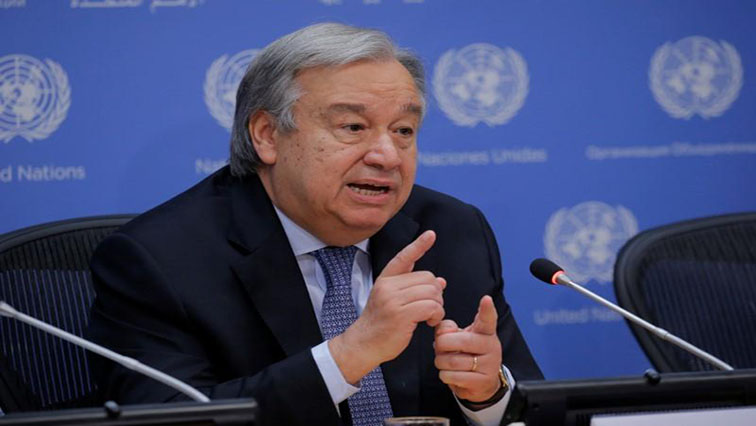 SABC News Antonio Guterres R - COVID-19 Tools Accelerator the global solution we are looking for: Guterres