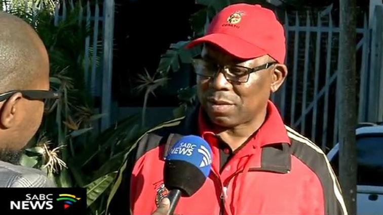 SABC News Bheki Ntshalintshali - Cosatu calls for action in dealing with corruption
