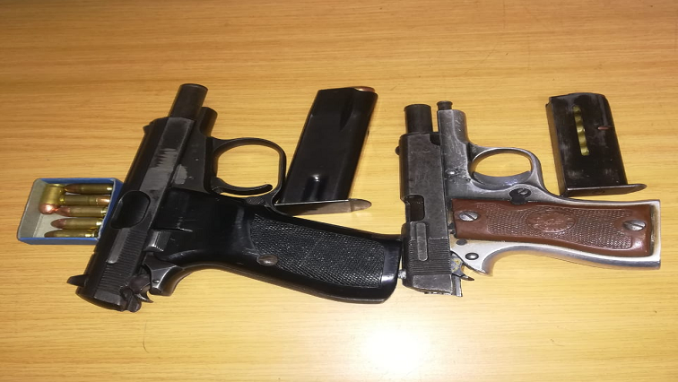 SABC News Firearms Twitter @SAPS - Suspects pounce on Mpumalanga police station, steal weapons