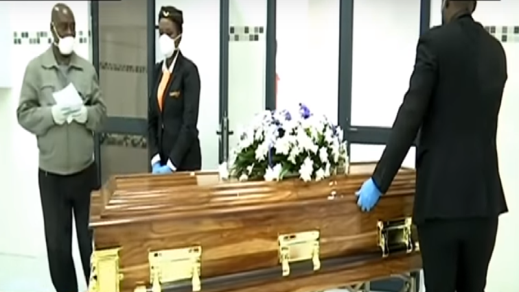 SABC News Funeral parlour - Health department concerned about undertakers' planned shutdown