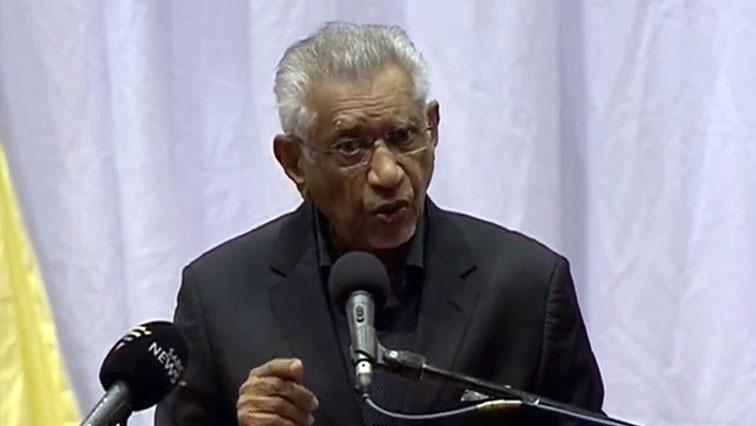SABC News Mac Maharaj 5 Sept 2020 - Former Surgeon General Vejay Ramlakan devoted his life to the service of people: Mac Maharaj