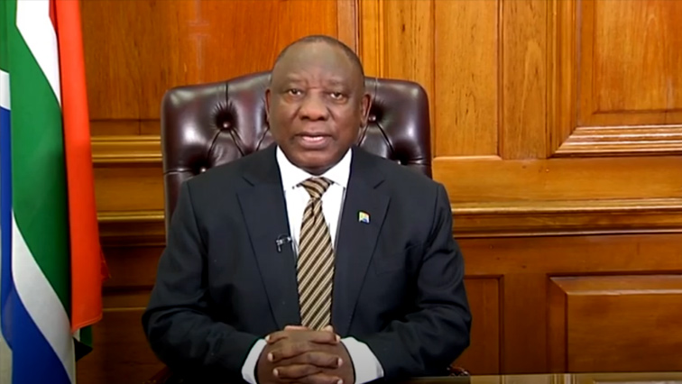 SABC News Ramaphosa P - Restrictions eased for the creative industry and international travel