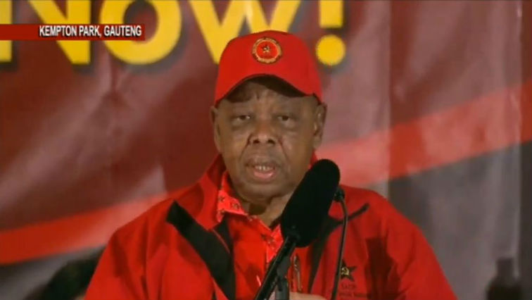 SABC News SACP - Nzimande calls for a frank discussion on Zimbabwe