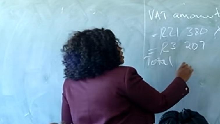 SABC News Teacher 1 - Infographic   Number of teachers in SA's public schools