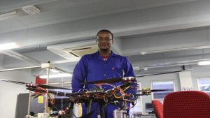 SABC News Xolani Radebe 300x169 - FEATURE   Wits student designs drone that can screen people for COVID-19