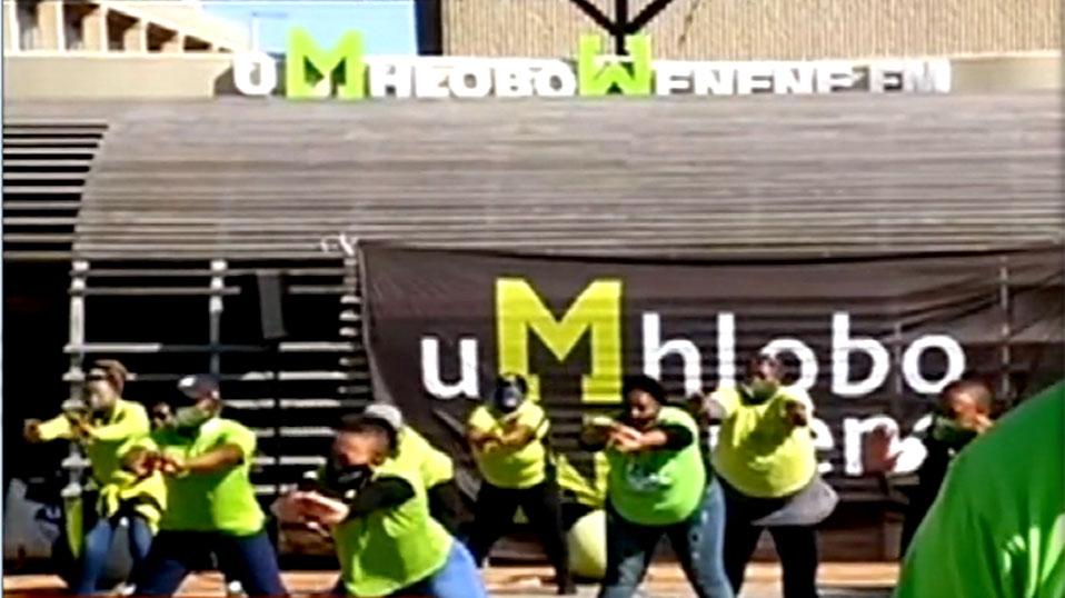SABC News uMhlobo Wenene - Umhlobo Wenene staff, listeners usher in Spring with Jerusalema dance challenge