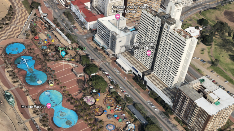 SABC News Durban Beach Google Maps 1 - Tourism KZN releases video to entice travellers