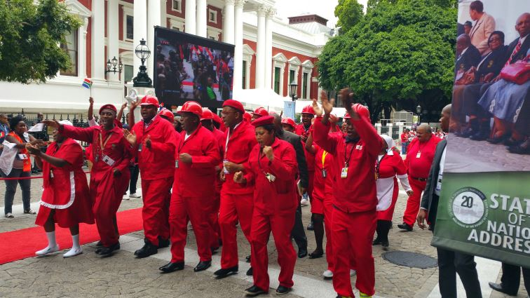 SABC News Economic Freedom Fighters - EFF assures supporters it will eradicate all forms of racism in SA