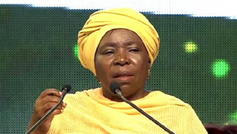 SABC News Nkosazana Dlamini Zuma - Dlamini-Zuma urges politicians to manage public funds properly