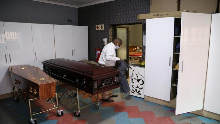 Undertakers Reuters - Pretoria undertakers vow to continue strike action