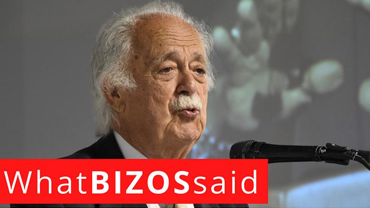 WHAT BIZOS SAID - Things George Bizos said