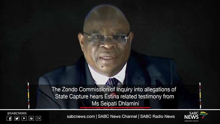indexZondo - LIVE: State Capture Inquiry Estina Project related testimony