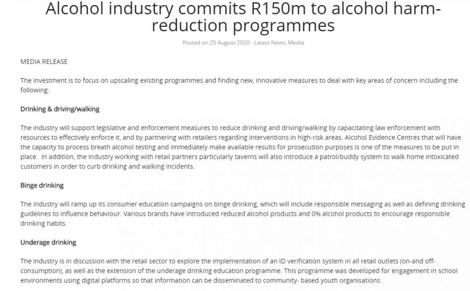 letter - uMhlathuze Municipality to adopt stringent measures to reduce public drinking