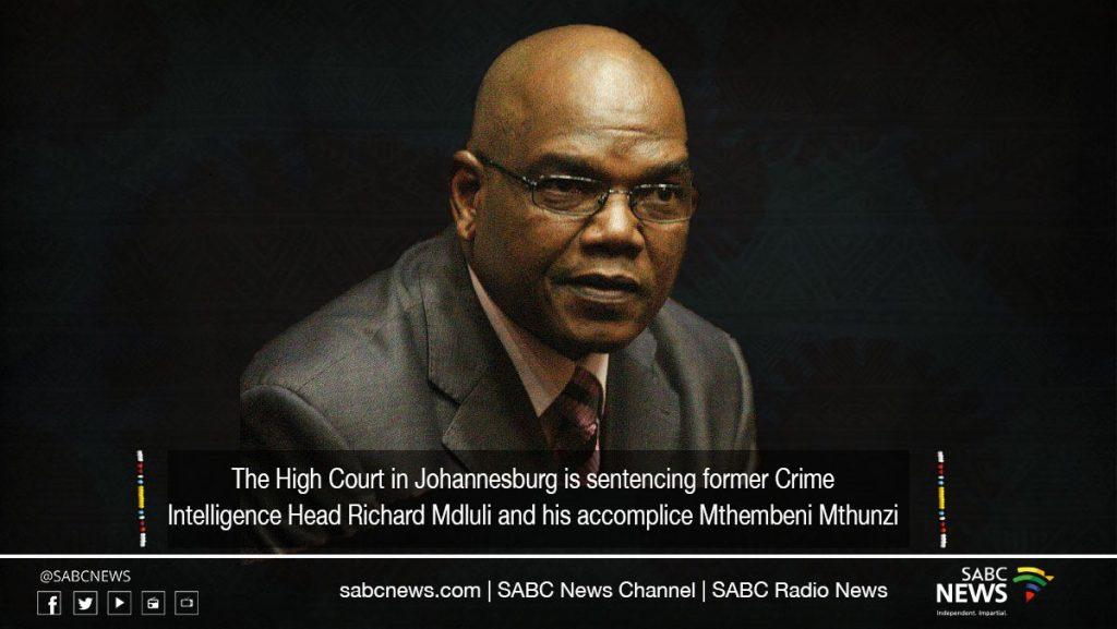 mdluli sentencing 1024x577 - LIVE: High Court in Johannesburg sentencing of Richard Mdluli, Mthembeni Mthunzi