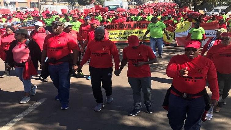 popcru march 1 - Popcru threatens mass action against planned job cuts