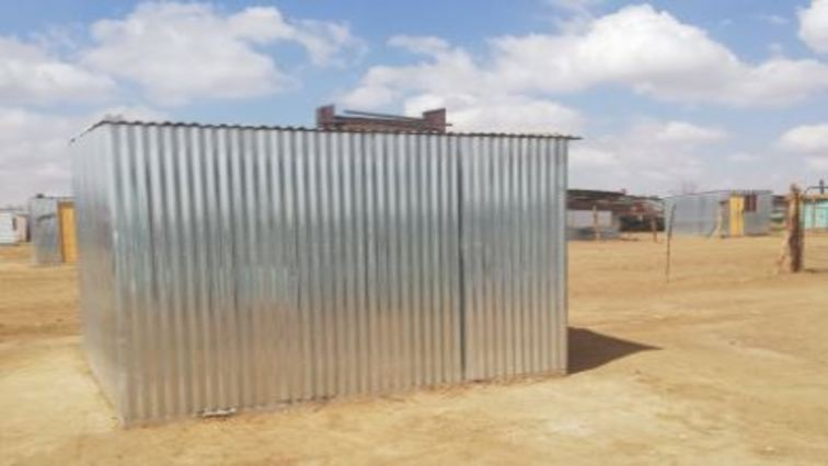 shack 756x426 - Free State Human Settlements Department builds over 500 shacks worth R12 million