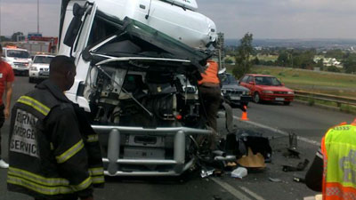 truck accident - Four killed in head-on collision in Limpopo