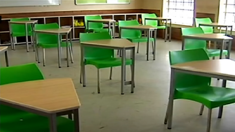Empty Classroom SABC News - Basic Education concerned about rising matric learner dropout