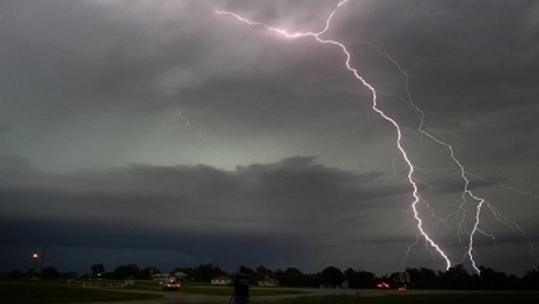 Lightning REUTERS 1 - SA Weather Service issues severe thunderstorm warning