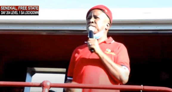 MAlema - FF Plus lodges complaint against Malema with HRC