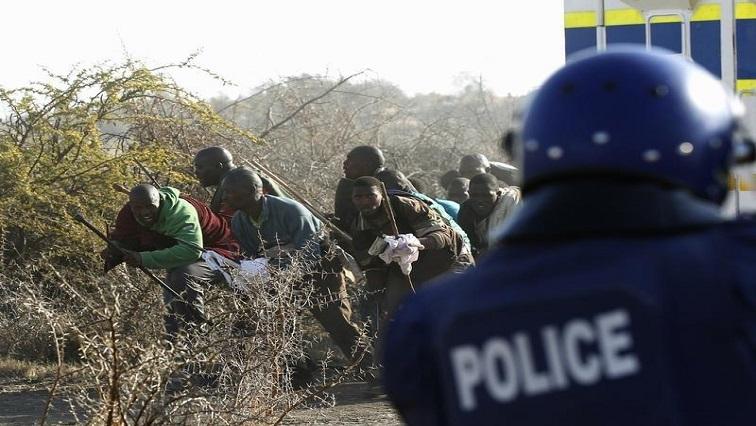 Marikana REUTERS 1 - More videos taken during the strike in Marikana to be shown in court